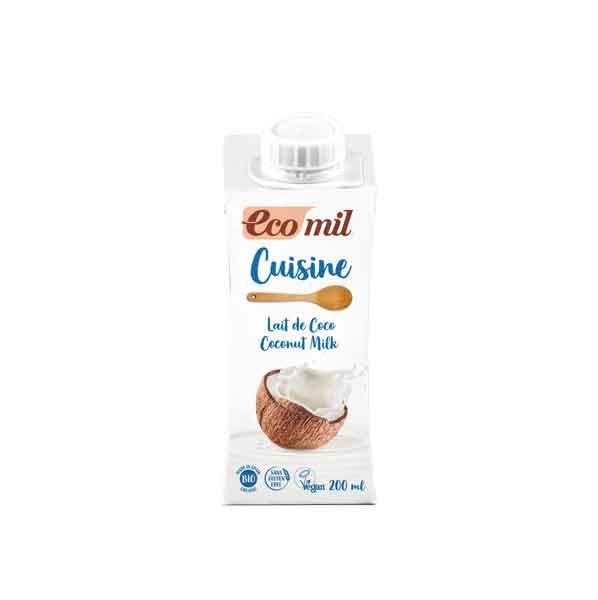 Ecomil Cuisine Kokos Sahneersatz