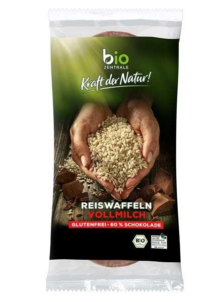 biozentrale Reiswaffeln Vollmilch bio 100g
