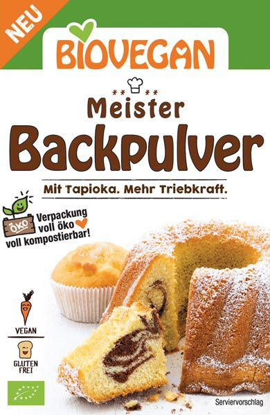 Biovegan Meister Backpulver