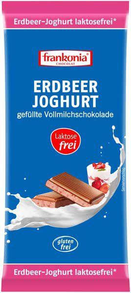Frankonia Erdbeer Joghurt Schokolade laktosefrei