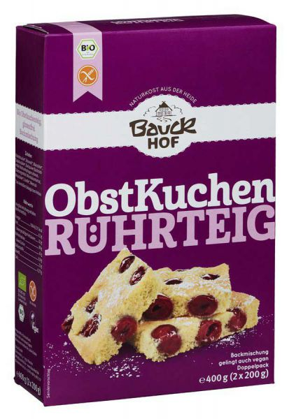 Bauckhof Obstkuchenteig