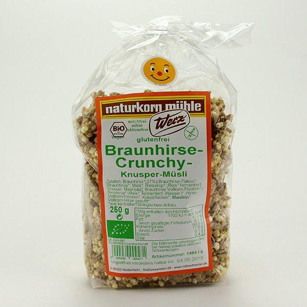 Werz Braunhirse Crunchy