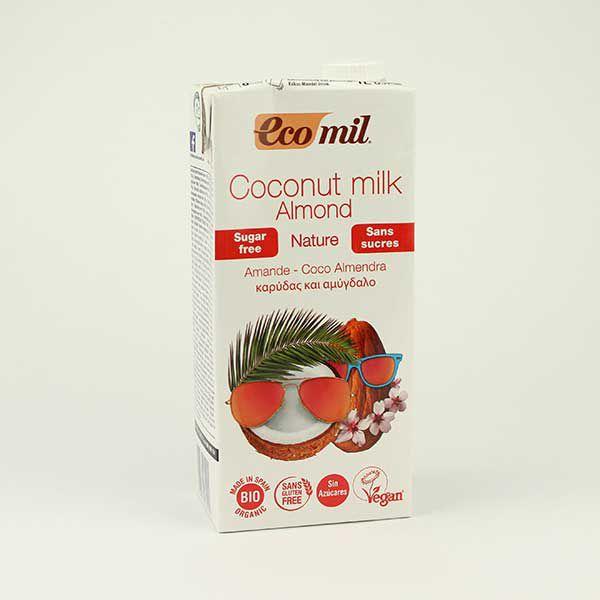 EcoMil Kokos-Mandel-Drink zuckerfrei