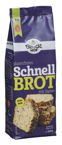 Bauckhof Schnellbrot mit Saaten