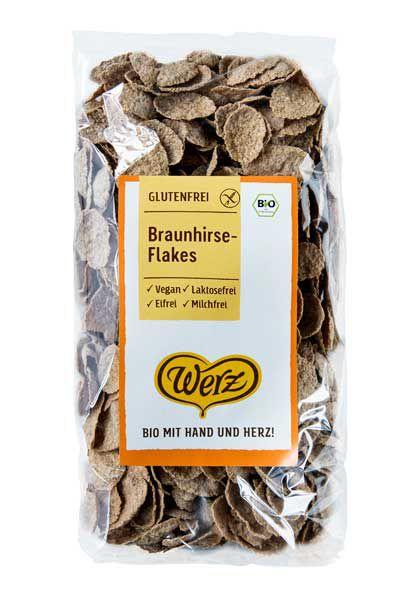 Werz Braunhirse Flakes
