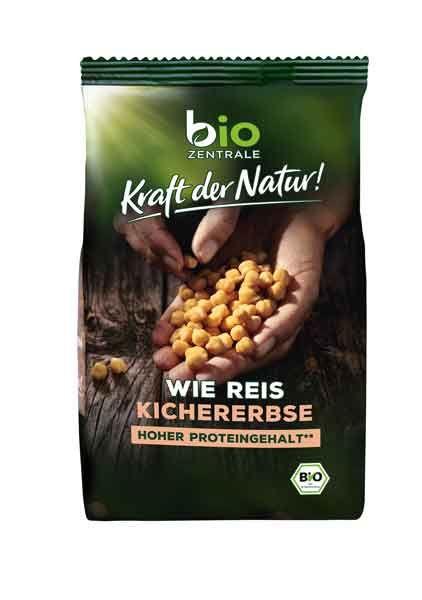 biozentrale Wie Reis Kichererbse bio 280g