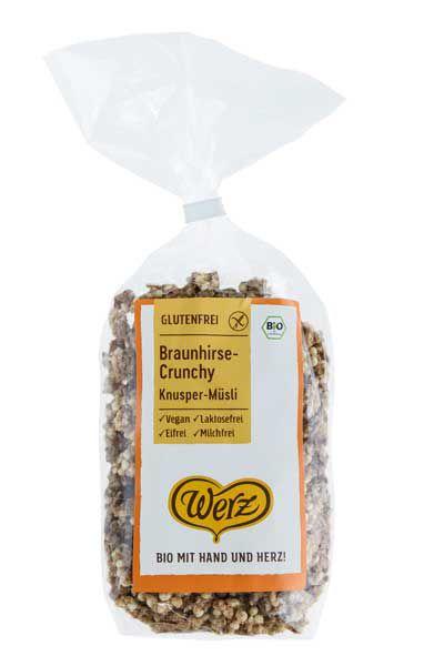 Werz Braunhirse Crunchy glutenfrei