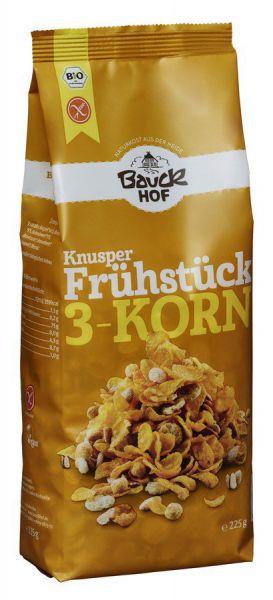 Bauckhof Knusperfrühstück 3-Korn