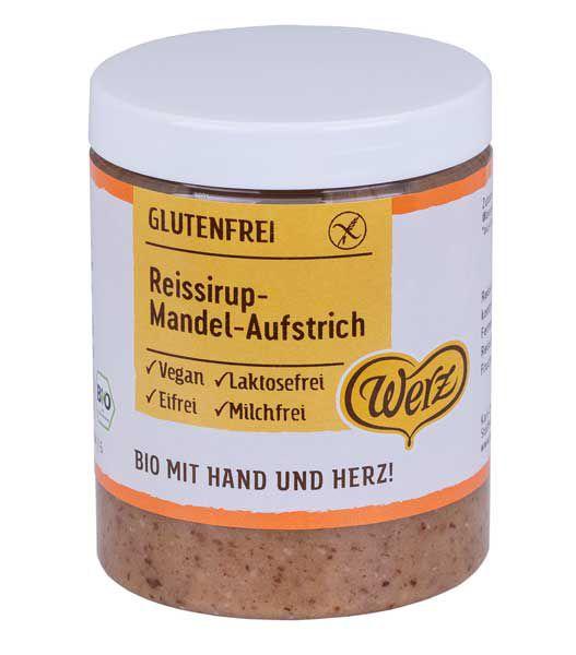 Werz Reissirup-Mandel-Aufstrich
