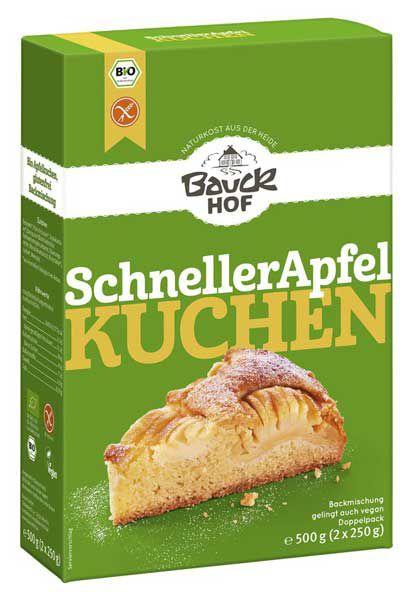 Bauckhof Schneller Apfelkuchen