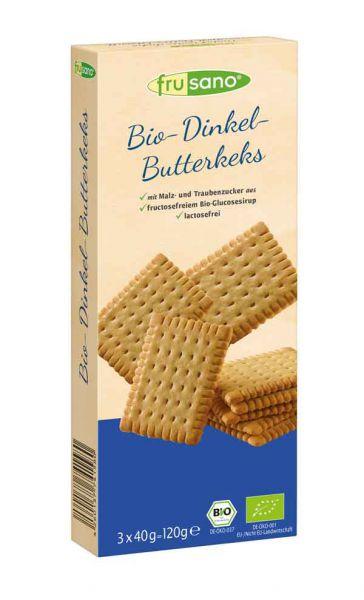 Frusano Bio Dinkel-Butterkeks
