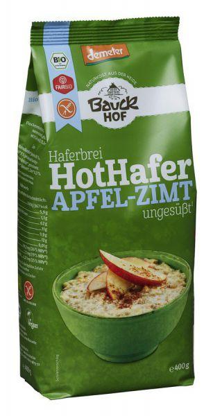 Bauckhof Hot Hafer Apfel-Zimt