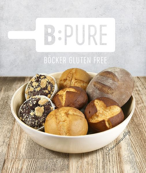 B:Pure Böcker gluten free Basis-Set 0,83 kg