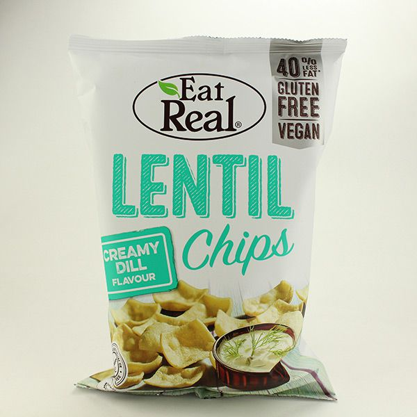 Eat Real Linsenchips Creamy Dill