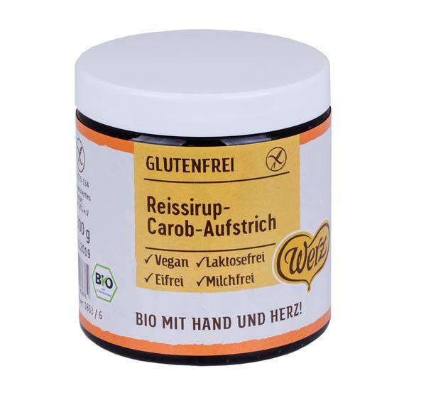 Werz Reissirup-Carob-Aufstrich