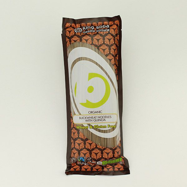 King Soba Buchweizennudeln mit Quinoa