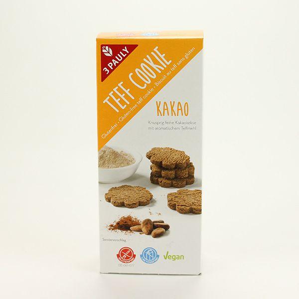 3Pauly Teff Teff Cookie Kakao