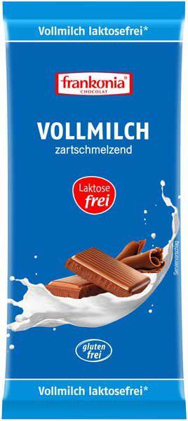 Frankonia Vollmilch Schokolade laktosefrei