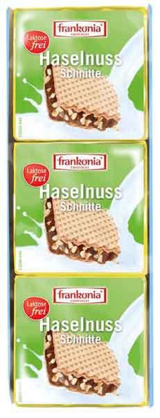 Frankonia Haselnuss-Schnitte