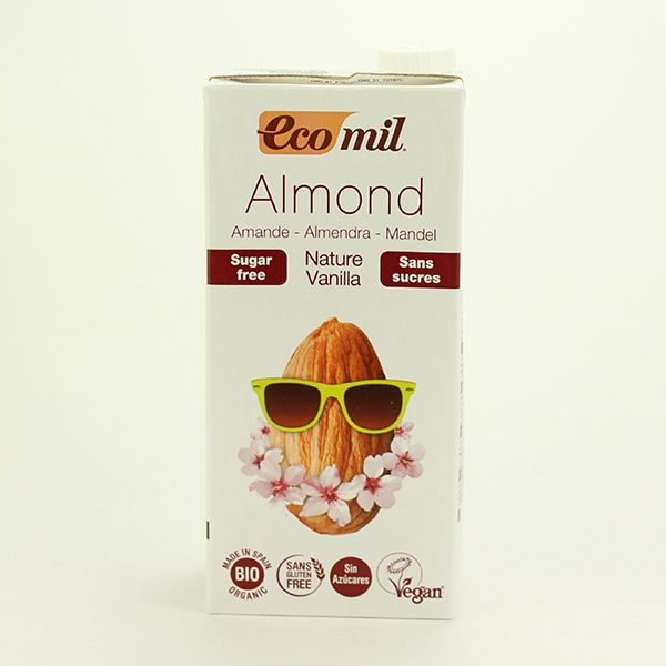 EcoMil Mandeldrink Vanille zuckerfrei