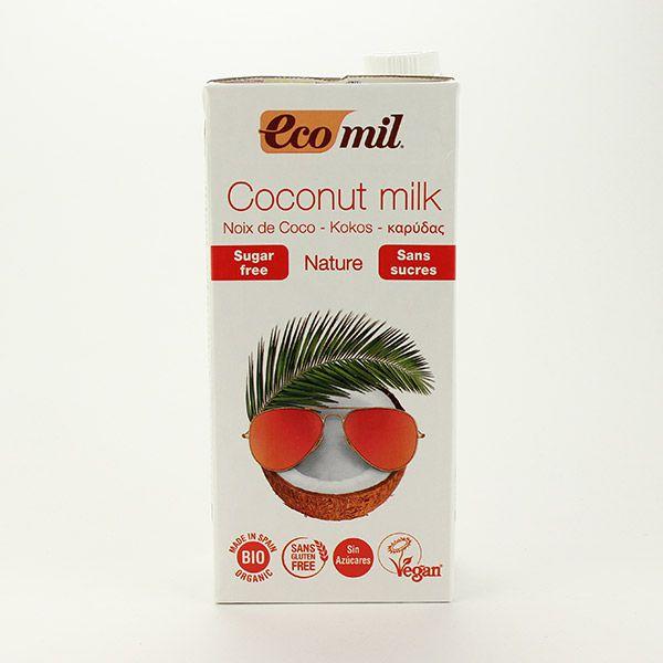 EcoMil Kokosdrink zuckerfrei