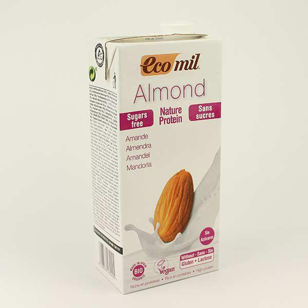 EcoMil Mandeldrink Protein zuckerfrei