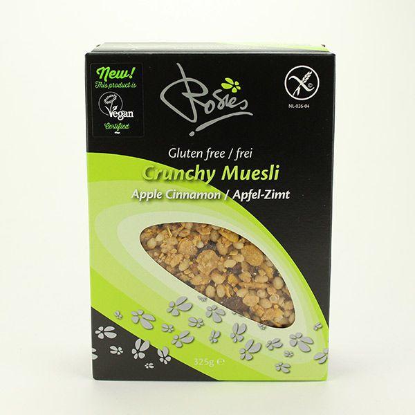 Rosies Crunchy Müsli Apfel-Zimt