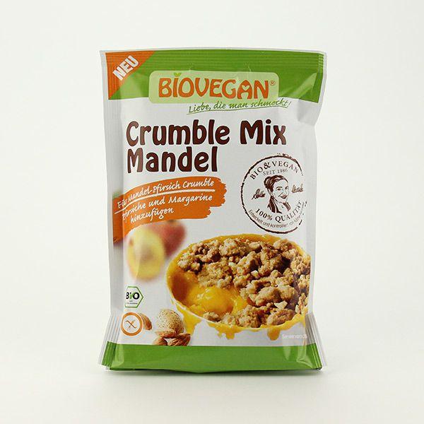 Biovegan Crumble Mix Mandel