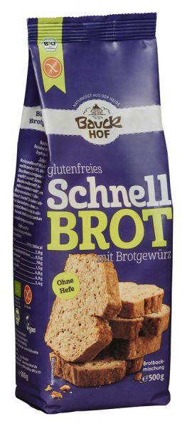 Bauckhof Schnellbrot mit Brotgewürz