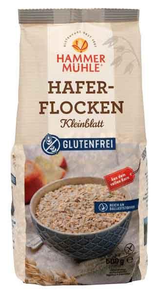 Hammermühle Haferflocken glutenfrei