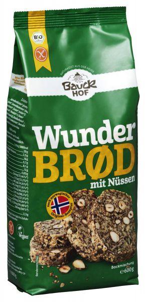 Bauckhof Wunderbröd mit Nüssen