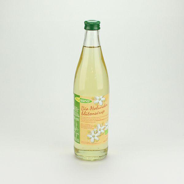 Frusano Holunderblütensirup