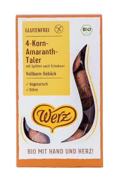 Werz 4-Korn Amaranth Taler nach Schokoart