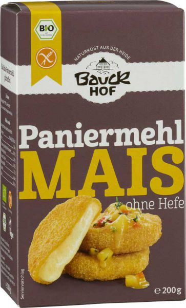 Baukhof Mais Paniermehl