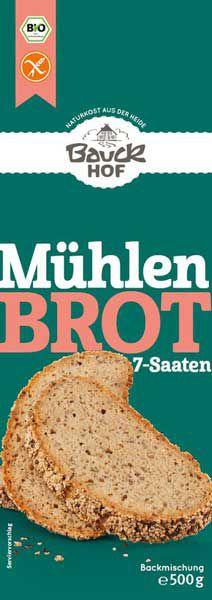 Bauckhof Mühlenbrot glutenfrei