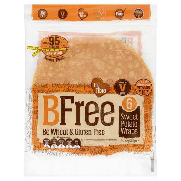 BFree Süsskartoffel Wraps glutenfrei