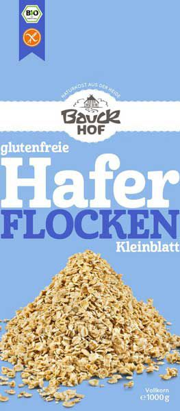 Bauckhof Haferflocken Kleinblatt Großpackung