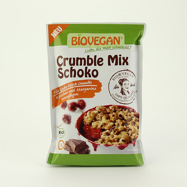 Biovegan Crumble Mix Schoko