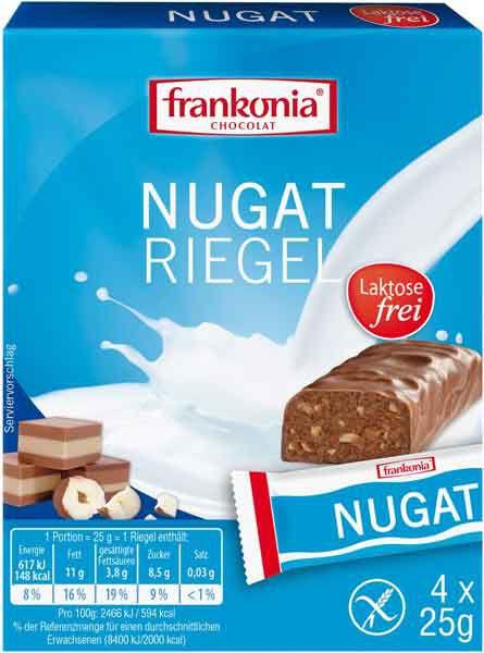 Frankonia Nugat Riegel