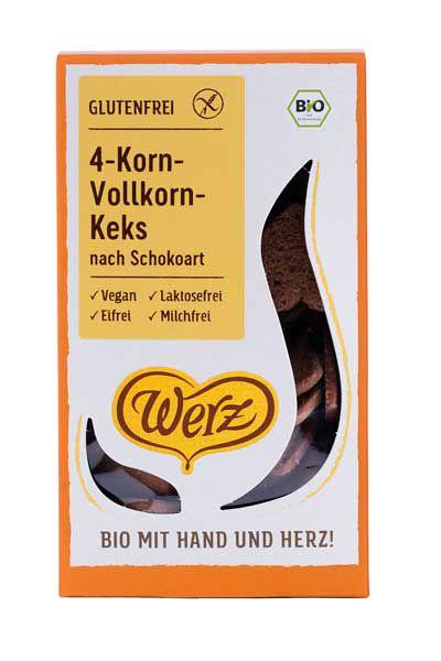 Werz 4-Korn-Vollkorn-Keks nach Schokoart