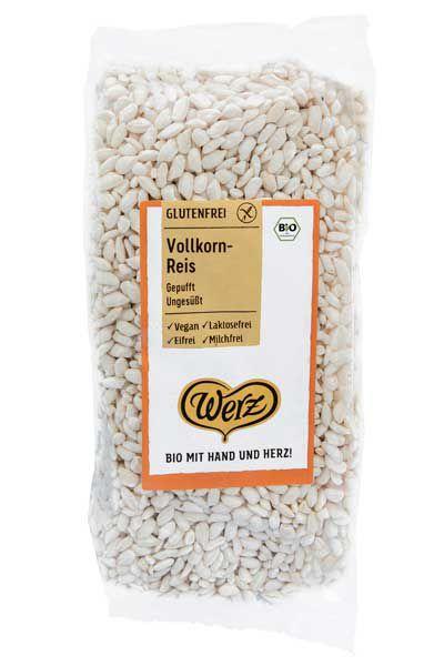 Werz Vollkorn Reis gepufft