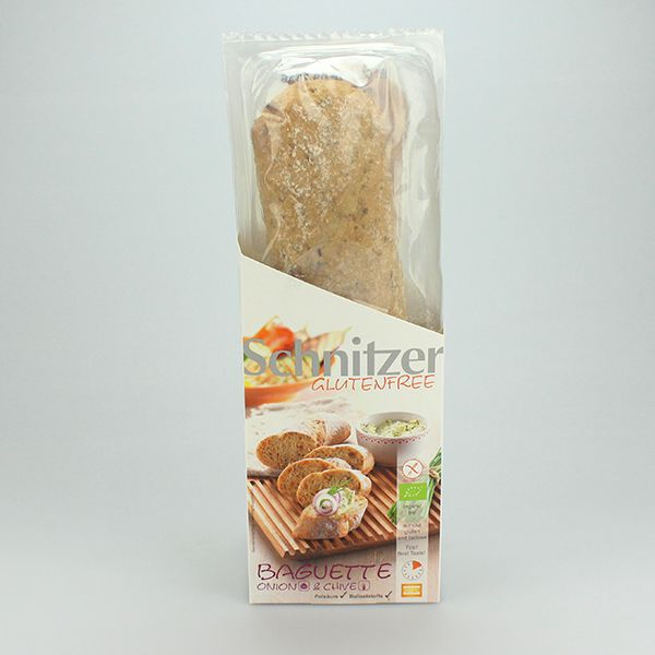 Schnitzer Baguette Zwiebel und Schnittlauch