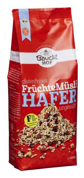 Bauckhof Hafermüsli Früchte